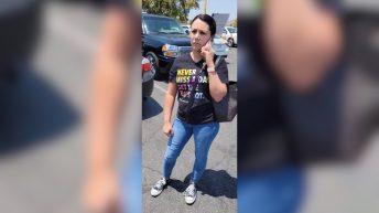 Hispanic Karen Liz De Le Torres gets caught profiling Ya'Shear Bryant video