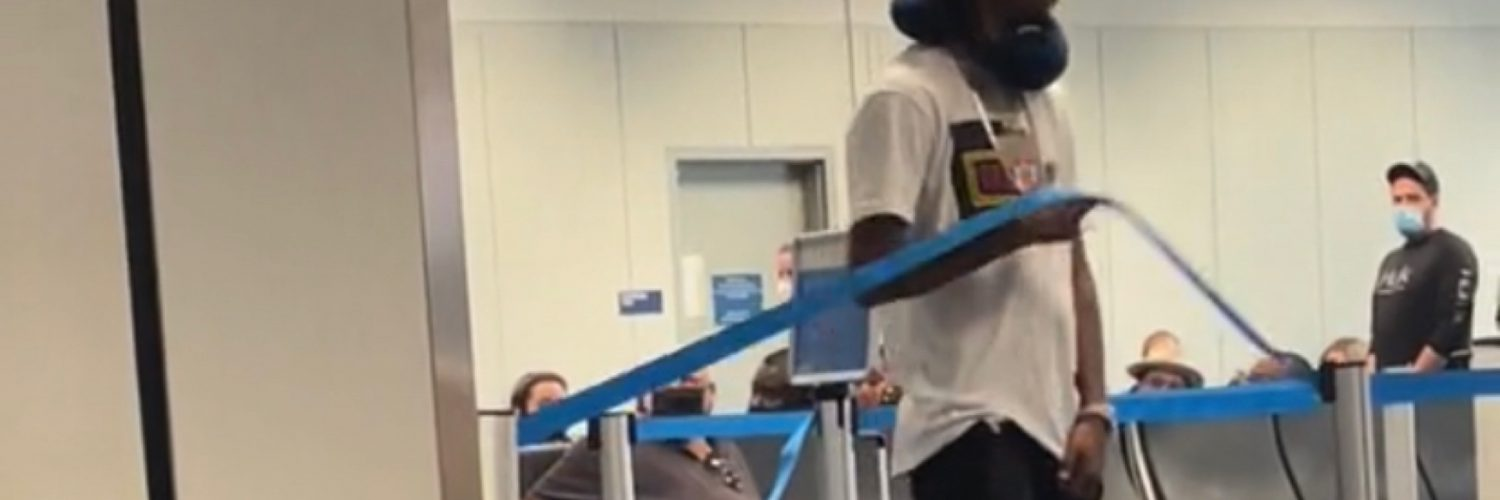 Man gets arrested after going off in airport