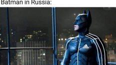 Batman in Russia meme