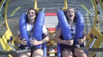 NJ teen hits seagulls on slingshot ride