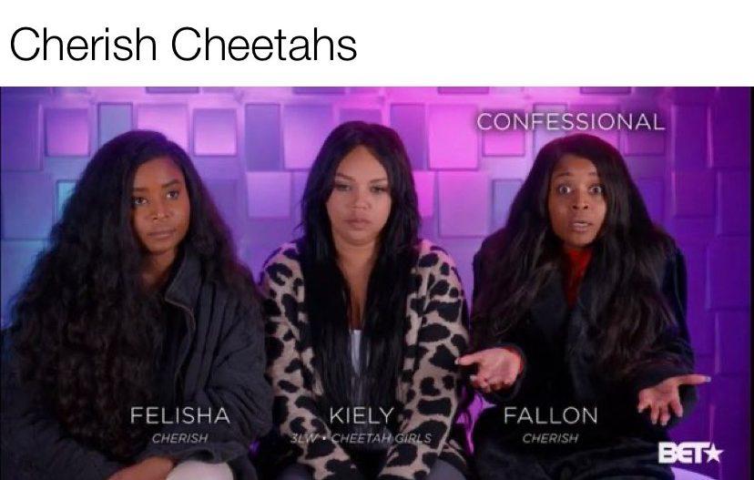 Cherish Cheetahs BET TheEncore meme