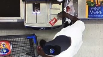 Man steals Tide Pods from self checkout