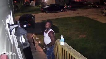 Neighbors steals DoorDash delivery