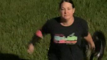 Karen harasses woman walking dog