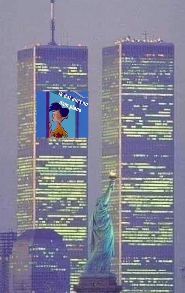 Ralph Ed Edd n Eddy 9/11 meme