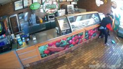 Woman fights off Subway robber