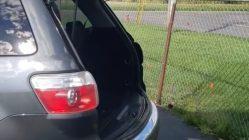 GMC Acadia trunk slams shut