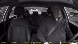 A criminal fails getaway attempt in Uber