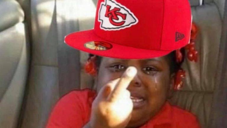 Crying Kansas City Chiefs losing meme