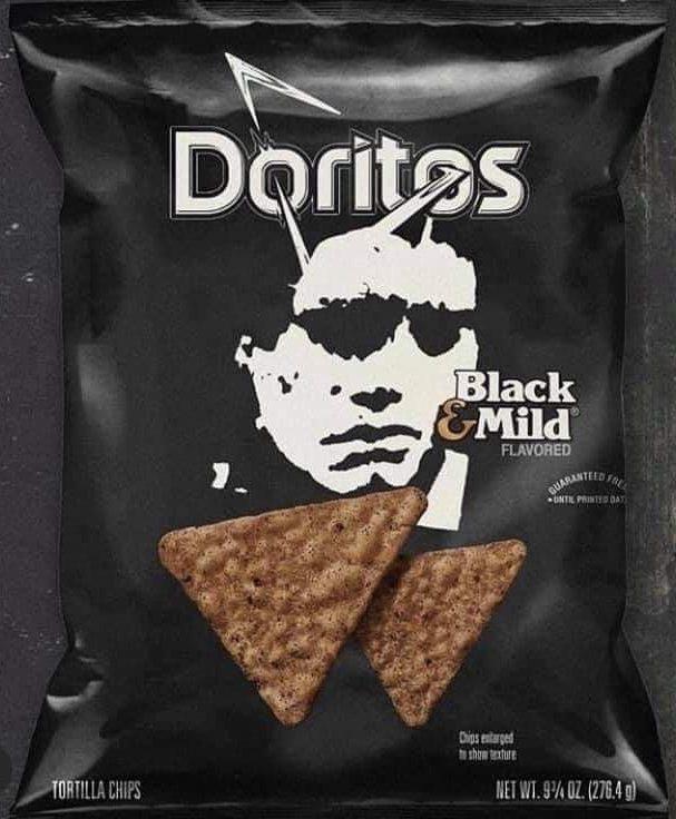 Black & Mild Doritos flavor meme
