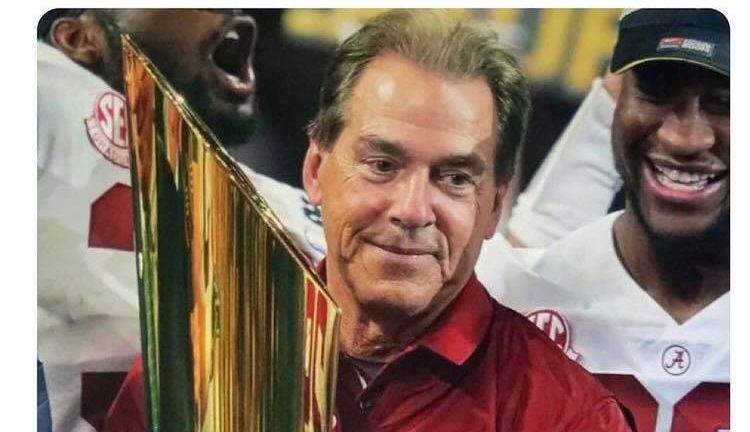 Breaking: Alabama declared 2021 National Champions after Ohio State and Clemson lose in week 1 + 2 meme