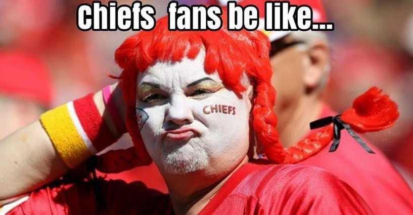 Chiefs fans be like meme