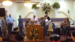 Woman testimony praise break goes wrong