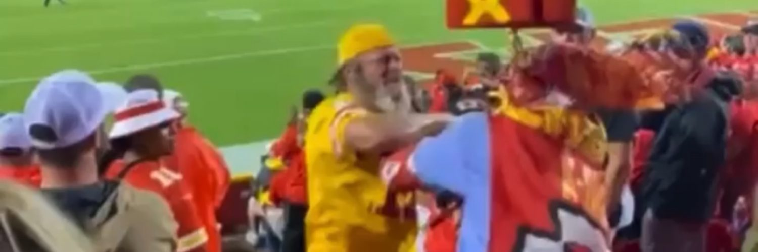 Kansas City Chief superfan X Factor gets into a scuffle