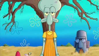 Squid Games Squidward Spongebob Squarepants meme