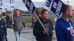 John Deere Union workers go on strike